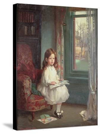 Portrait of Clara Hughes, 1902-Sir William Orpen-Stretched Canvas Print