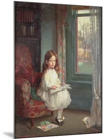 Portrait of Clara Hughes, 1902-Sir William Orpen-Mounted Giclee Print