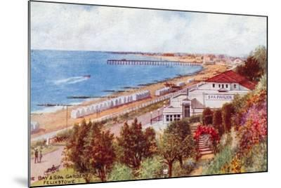 The Bay and Spa Gardens, Felixstowe-Alfred Robert Quinton-Mounted Giclee Print