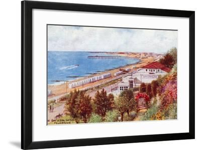 The Bay and Spa Gardens, Felixstowe-Alfred Robert Quinton-Framed Giclee Print