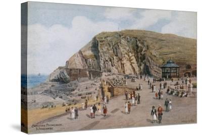 Capstone Promenade, Ilfracombe-Alfred Robert Quinton-Stretched Canvas Print