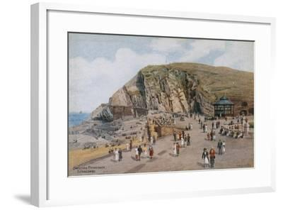 Capstone Promenade, Ilfracombe-Alfred Robert Quinton-Framed Giclee Print