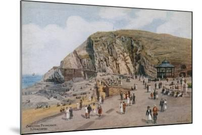 Capstone Promenade, Ilfracombe-Alfred Robert Quinton-Mounted Giclee Print