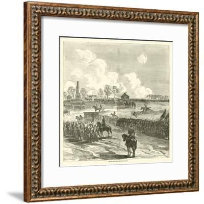 Near Chancellorsville, May 1, May 1863--Framed Giclee Print