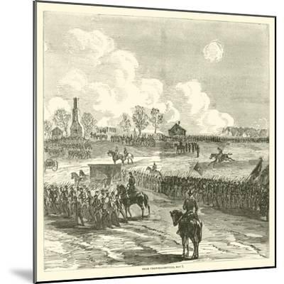 Near Chancellorsville, May 1, May 1863--Mounted Giclee Print