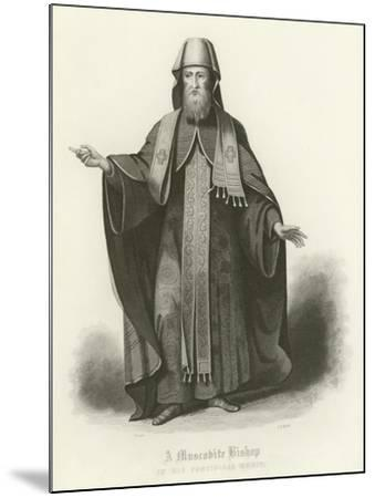 A Muscovite Bishop--Mounted Giclee Print