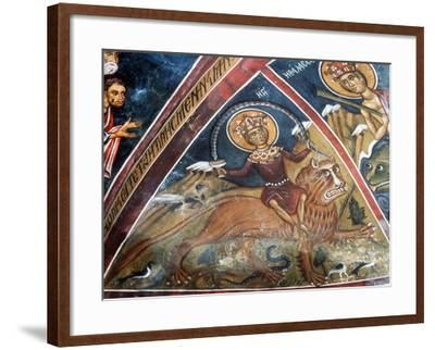 Last Judgement, Personification of the Land--Framed Giclee Print