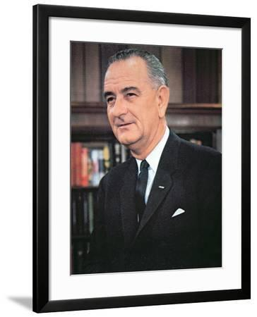 Lyndon B. Johnson--Framed Photographic Print