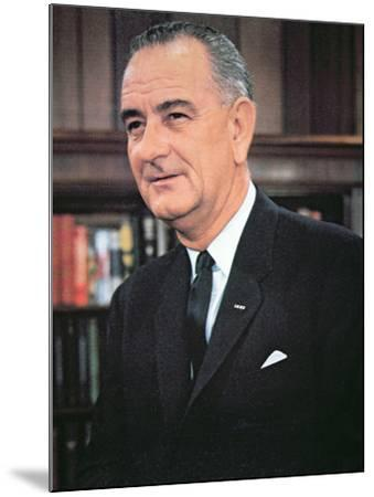 Lyndon B. Johnson--Mounted Photographic Print
