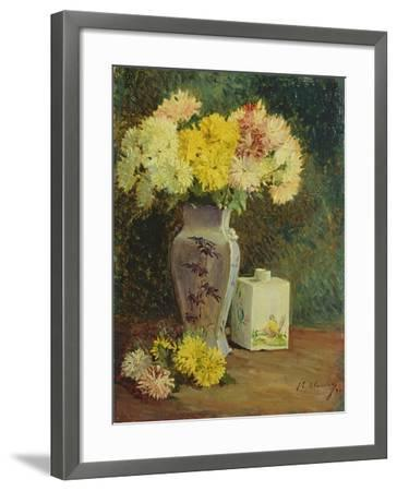The Chinese Pot, Manet's Studio-Jacques-emile Blanche-Framed Giclee Print