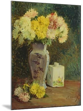 The Chinese Pot, Manet's Studio-Jacques-emile Blanche-Mounted Giclee Print