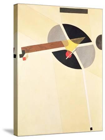 Proun 67-El Lissitzky-Stretched Canvas Print