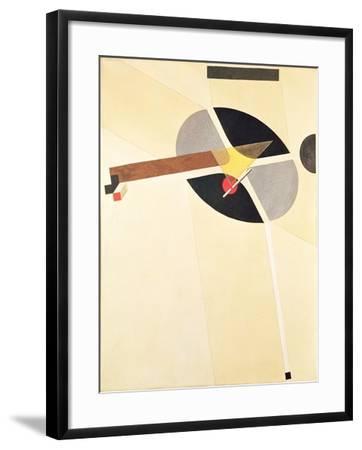 Proun 67-El Lissitzky-Framed Giclee Print