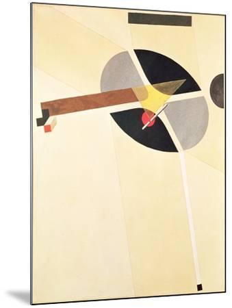 Proun 67-El Lissitzky-Mounted Giclee Print