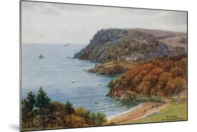 Salcombe, Bolt Head and North Sands-Alfred Robert Quinton-Mounted Giclee Print