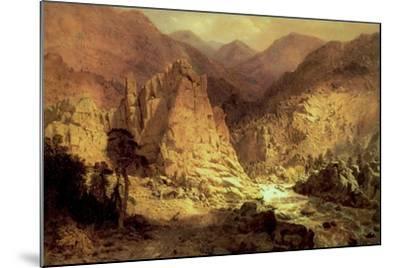 Headwaters of the Rio Grande, 1872-73-Hamilton Hamilton-Mounted Giclee Print