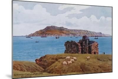 Sandsfoot Castle and Portland, Weymouth-Alfred Robert Quinton-Mounted Giclee Print