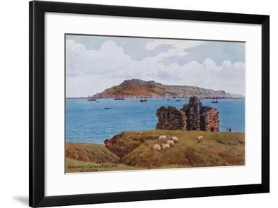 Sandsfoot Castle and Portland, Weymouth-Alfred Robert Quinton-Framed Giclee Print