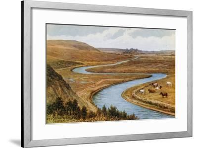 The Cuckmere Valley, Seaford-Alfred Robert Quinton-Framed Giclee Print