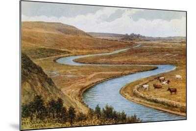 The Cuckmere Valley, Seaford-Alfred Robert Quinton-Mounted Giclee Print