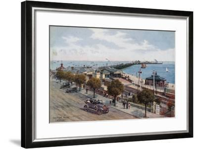 The Pier, Ryde, I of Wight-Alfred Robert Quinton-Framed Giclee Print