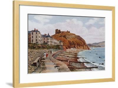 Marine Terrace and Castle, Criccieth-Alfred Robert Quinton-Framed Giclee Print