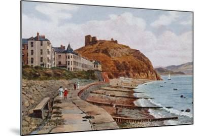 Marine Terrace and Castle, Criccieth-Alfred Robert Quinton-Mounted Giclee Print