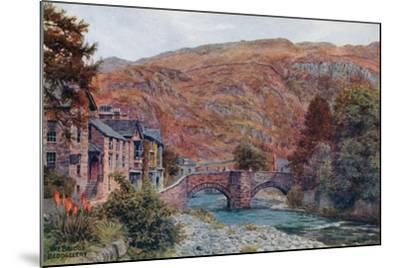 The Bridge, Beddgellert-Alfred Robert Quinton-Mounted Giclee Print