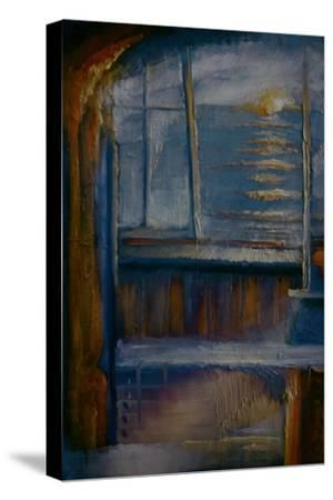 Whitstable Sunset, 1991-Lee Campbell-Stretched Canvas Print
