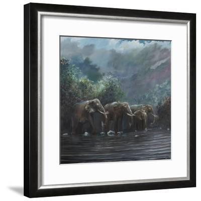 Welcome Waters, 1990-Vincent Alexander Booth-Framed Giclee Print
