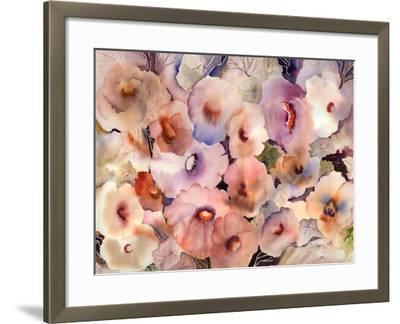 Floral Dreams-Neela Pushparaj-Framed Giclee Print