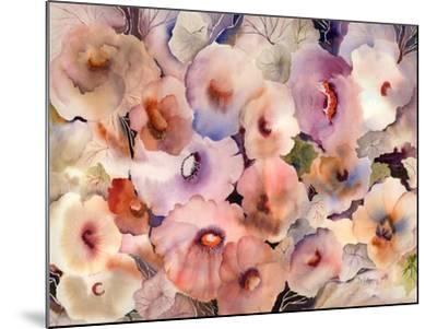 Floral Dreams-Neela Pushparaj-Mounted Giclee Print