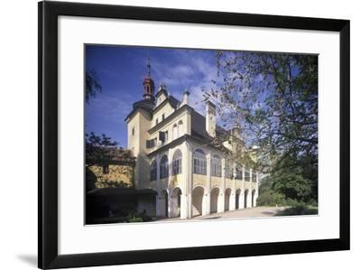 Summer Palace in Opono, Czech Republic--Framed Photographic Print