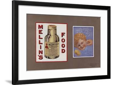 Page from Jordan's Enamelled Signs--Framed Giclee Print