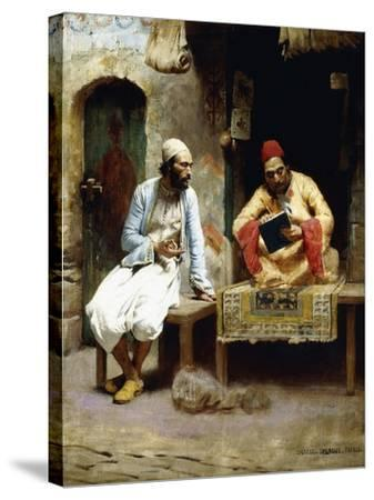 The Letter-Charles Sprague Pearce-Stretched Canvas Print