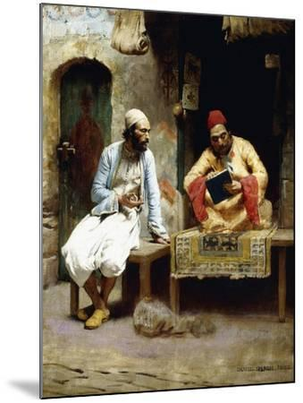 The Letter-Charles Sprague Pearce-Mounted Giclee Print