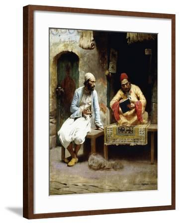 The Letter-Charles Sprague Pearce-Framed Giclee Print