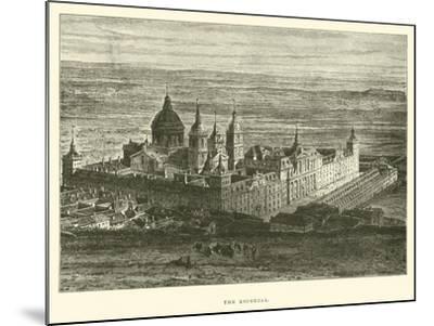 The Escorial--Mounted Giclee Print