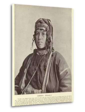 Zareefa, Bedouin--Metal Print