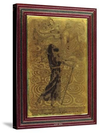 Le Lotus, C.1924-Raphael Freida-Stretched Canvas Print