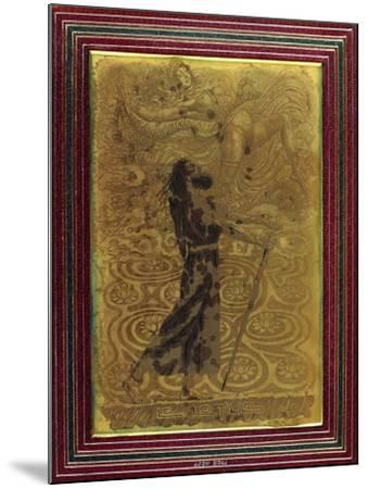 Le Lotus, C.1924-Raphael Freida-Mounted Giclee Print