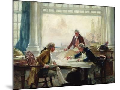 A Plan of Campaign-Arthur David McCormick-Mounted Giclee Print