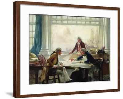 A Plan of Campaign-Arthur David McCormick-Framed Giclee Print