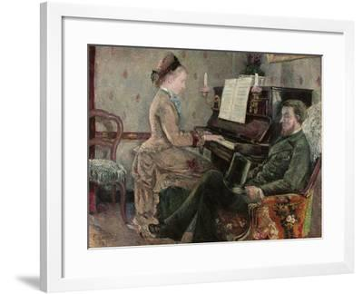 A Captive Audience, 1877-Frederic Samuel Cordey-Framed Giclee Print