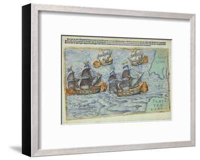 Journey of William Barents or Willem Barentsz--Framed Giclee Print