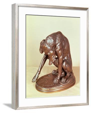 Dog-Emmanuel Fremiet-Framed Giclee Print