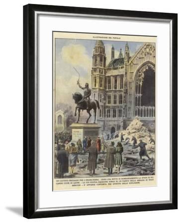 A Bad Omen for England--Framed Giclee Print
