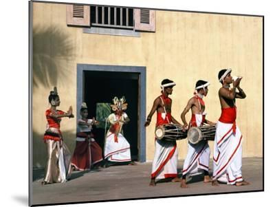 Sinhalese Dancers, Sri Lanka--Mounted Photographic Print