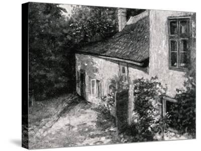 Birth House of Hugo Wolf--Stretched Canvas Print