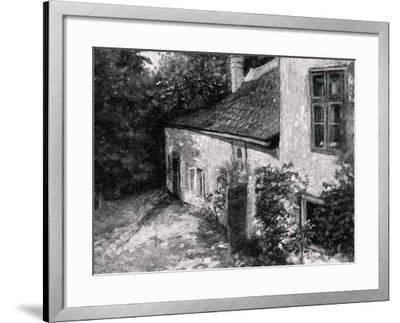 Birth House of Hugo Wolf--Framed Giclee Print